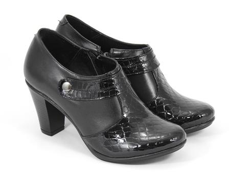 Pantofi dama piele negri Adina