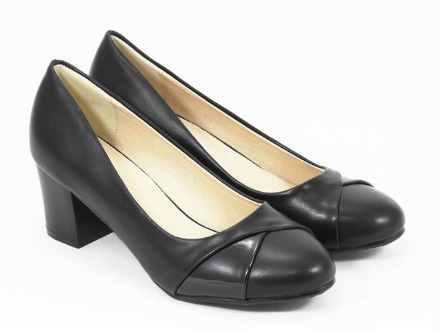 Pantofi dama negri Daniela