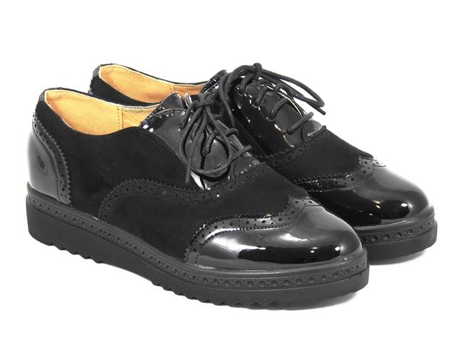 Pantofi dama negri Olina