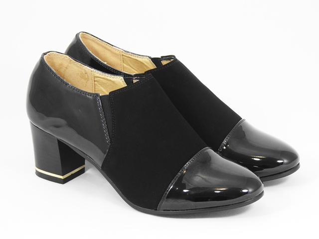 Pantofi dama negri Hortensia