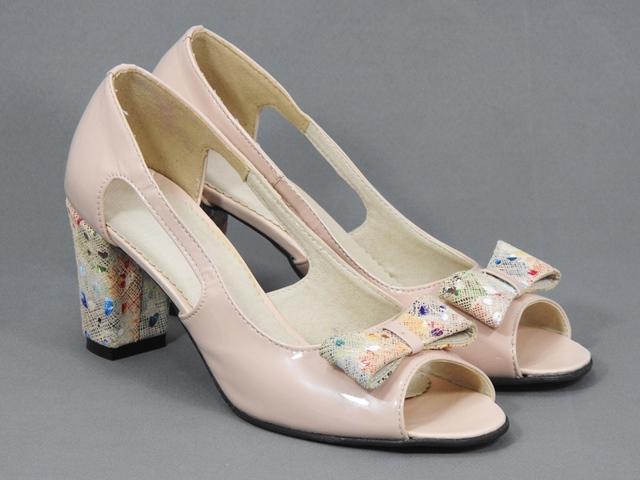Pantofi dama bej nude Alina