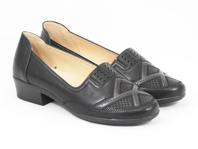 Pantofi dama negri Lorena