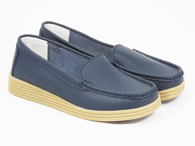 Pantofi dama piele bleumarin Marina