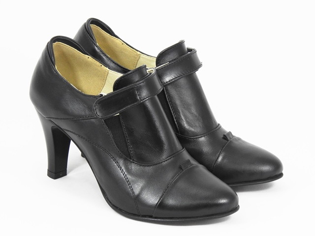 Pantofi dama piele negri Floryna