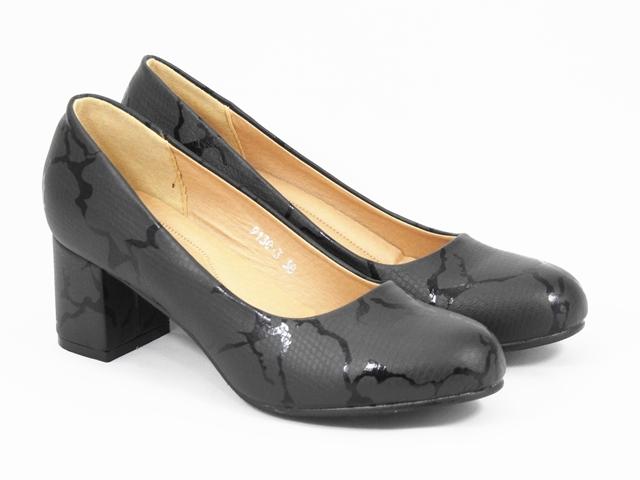 Pantofi dama negri Petra