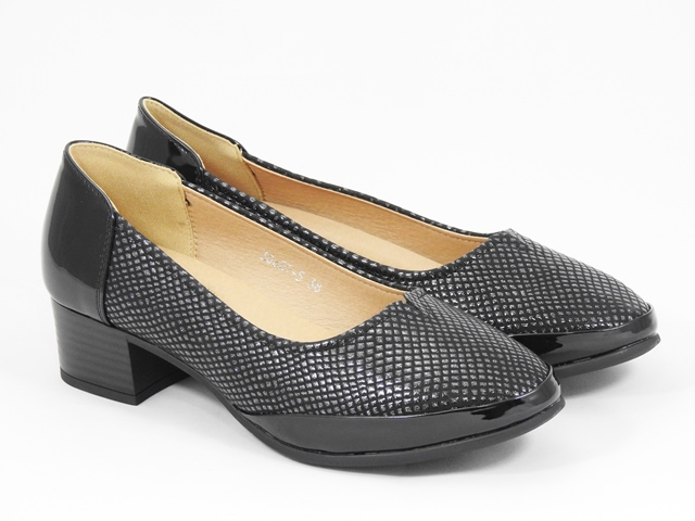 Pantofi dama negri Alina3