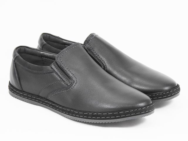 Pantofi barbati negri Horia