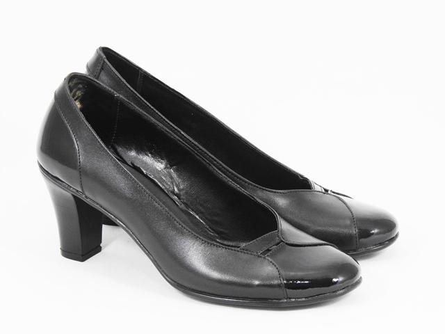 Pantofi dama piele negri Ryna