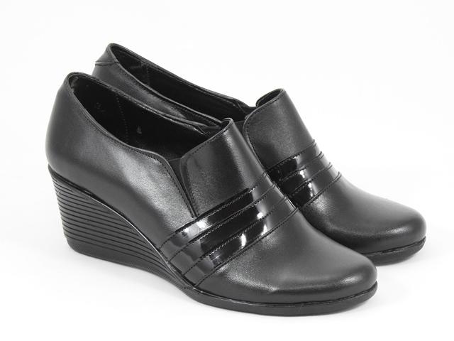 Pantofi dama piele negri Astrid