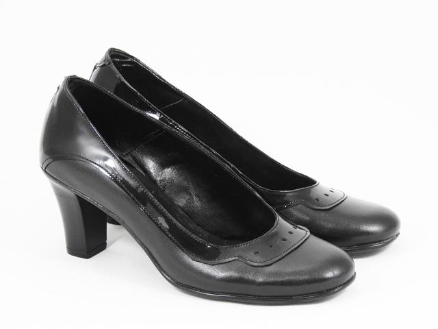Pantofi dama piele negri Coryna