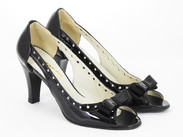 Sandale dama piele negre Nadia