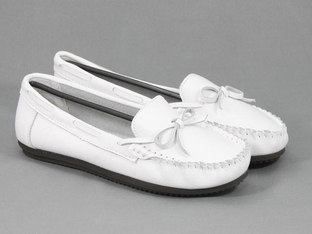 Pantofi dama piele albi Lilia