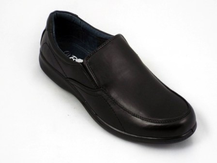 Pantofi barbati negri talpa comfortabila