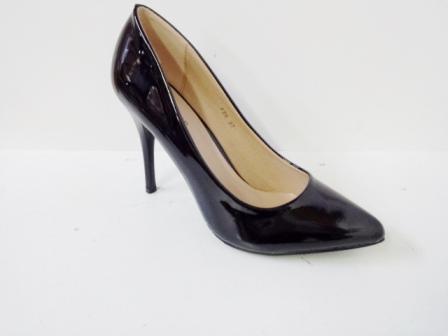 Pantofi dama negri, stiletto, toc de 9 cm,eleganti
