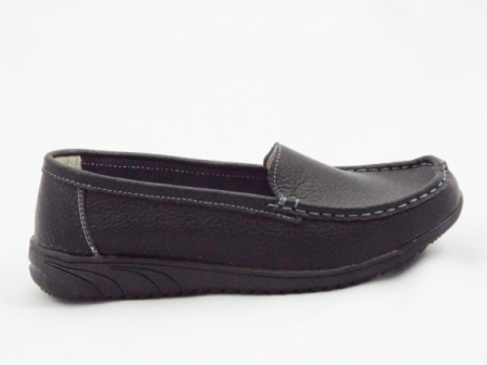 Pantofi dama negri din piele naturala premium.