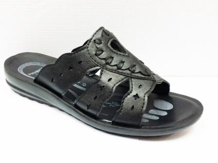 Papuci dama negri, cu talpa foarte comoda, model frontal