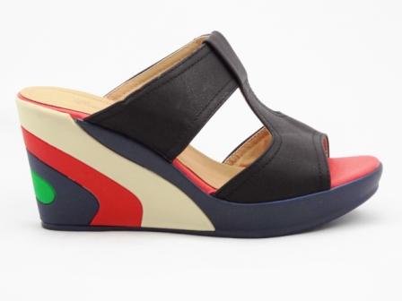 Papuci dama negri, ortopedicI, pastelati