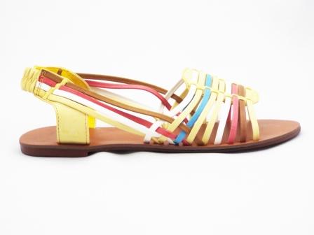 Sandale dama galbene si alte culori