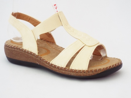 Sandale dama bej ,ortopedice, foarte comode.