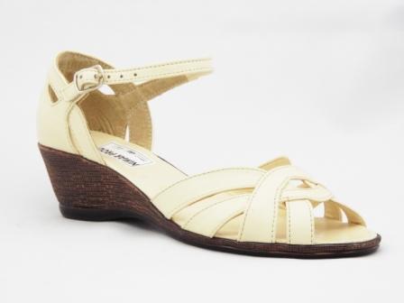 Sandale dama bej, piele naturala si talpa ortopedica