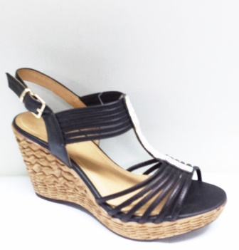Sandale dama negre, ortopedice, elegante, cu strasuri argintii