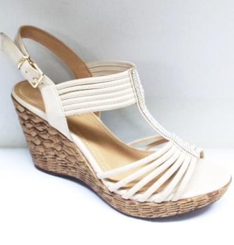 Sandale dama albe, ortopedice, elegante, cu strasuri argintii