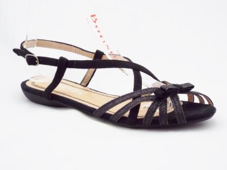 Sandale dama negre glitter, deosebit de comode