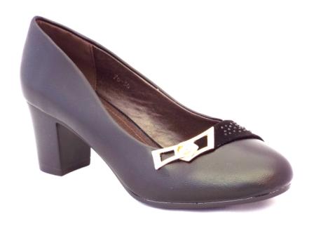 Pantofi dama negri ,cu toc de 5 cm, eleganti