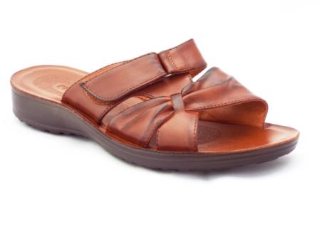 Papuci dama maro, cu catarama pe arici si talpa foarte comoda