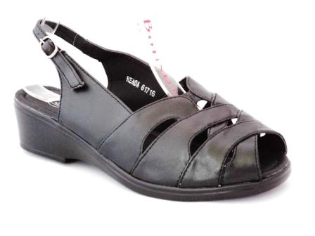 Sandale dama negre, ortopedice