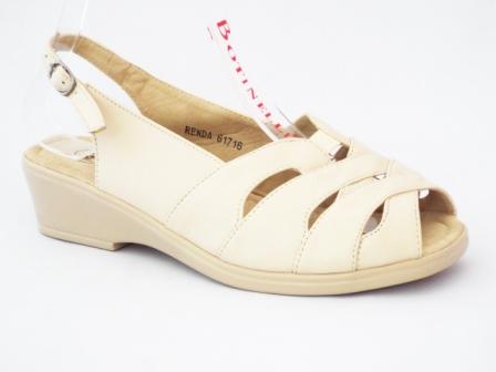 Sandale dama bej, ortopedice