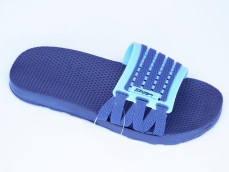 Papuci barbati albastri, de plaja